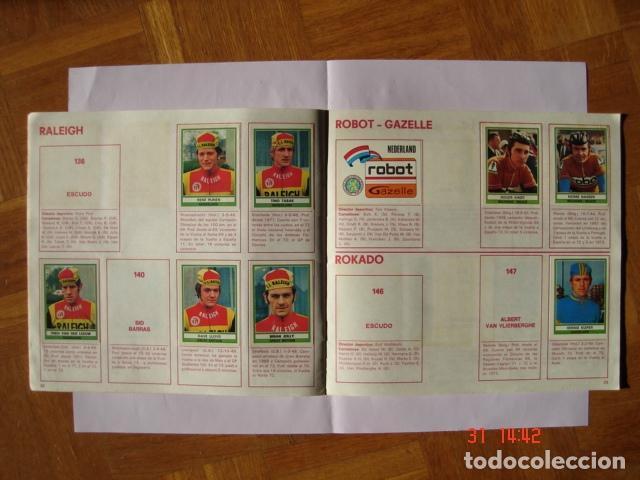Coleccionismo deportivo: ÁLBUM SPRINT 74 INCOMPLETO DE EDICIONES VULCANO-PANINI. AÑO 1974 - Foto 14 - 189634882