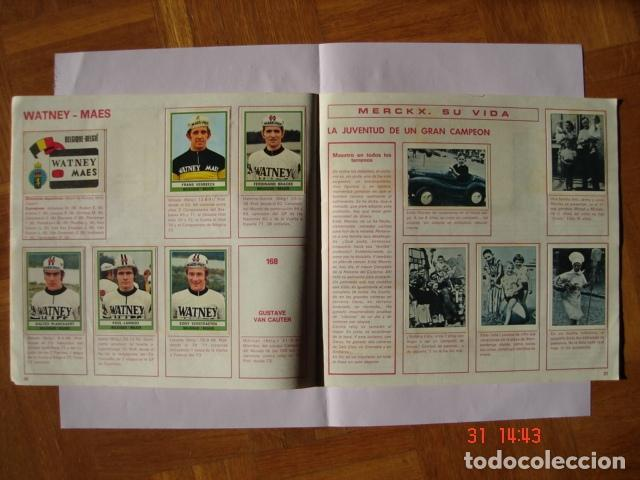 Coleccionismo deportivo: ÁLBUM SPRINT 74 INCOMPLETO DE EDICIONES VULCANO-PANINI. AÑO 1974 - Foto 16 - 189634882