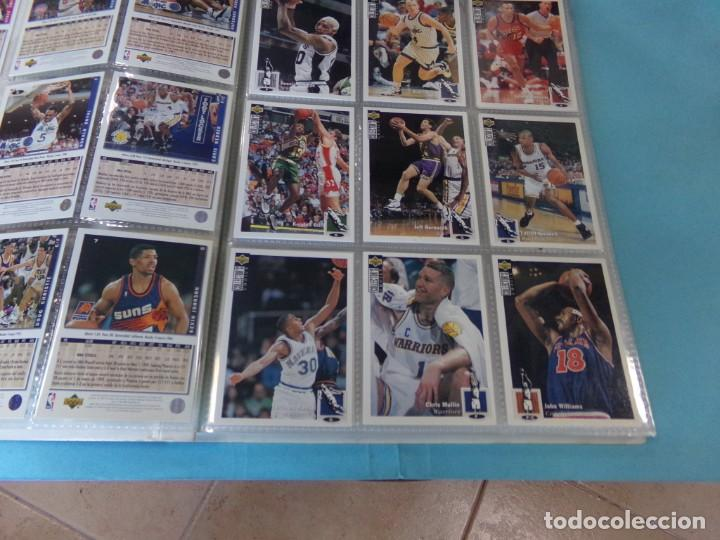Coleccionismo deportivo: ALBUM UPPER D.E.C.K. NBA BASKETBALL, 94-95. COMPLETO 219 CROMOS MAS LOS 6 FIRMADOS TOTAL 225 CROMOS - Foto 3 - 189997572