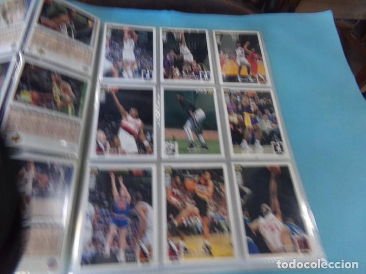 Coleccionismo deportivo: ALBUM UPPER D.E.C.K. NBA BASKETBALL, 94-95. COMPLETO 219 CROMOS MAS LOS 6 FIRMADOS TOTAL 225 CROMOS - Foto 4 - 189997572