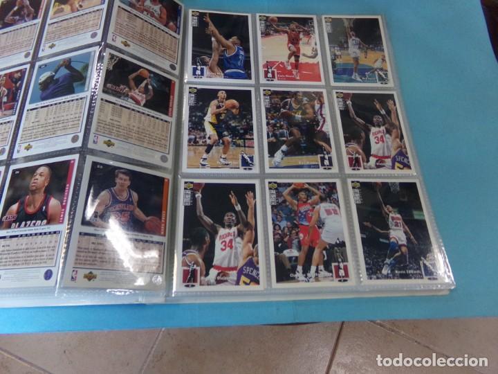 Coleccionismo deportivo: ALBUM UPPER D.E.C.K. NBA BASKETBALL, 94-95. COMPLETO 219 CROMOS MAS LOS 6 FIRMADOS TOTAL 225 CROMOS - Foto 5 - 189997572