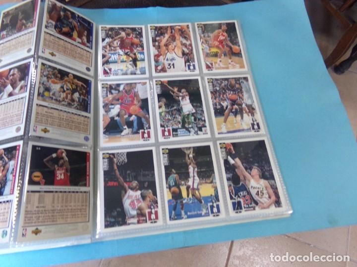Coleccionismo deportivo: ALBUM UPPER D.E.C.K. NBA BASKETBALL, 94-95. COMPLETO 219 CROMOS MAS LOS 6 FIRMADOS TOTAL 225 CROMOS - Foto 6 - 189997572