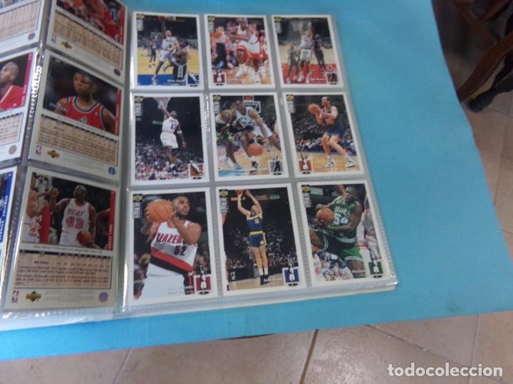 Coleccionismo deportivo: ALBUM UPPER D.E.C.K. NBA BASKETBALL, 94-95. COMPLETO 219 CROMOS MAS LOS 6 FIRMADOS TOTAL 225 CROMOS - Foto 7 - 189997572