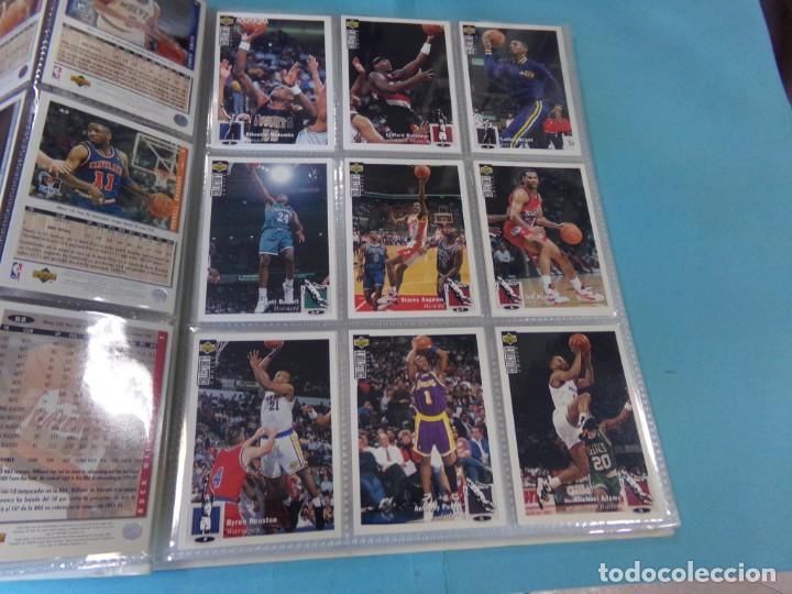 Coleccionismo deportivo: ALBUM UPPER D.E.C.K. NBA BASKETBALL, 94-95. COMPLETO 219 CROMOS MAS LOS 6 FIRMADOS TOTAL 225 CROMOS - Foto 8 - 189997572