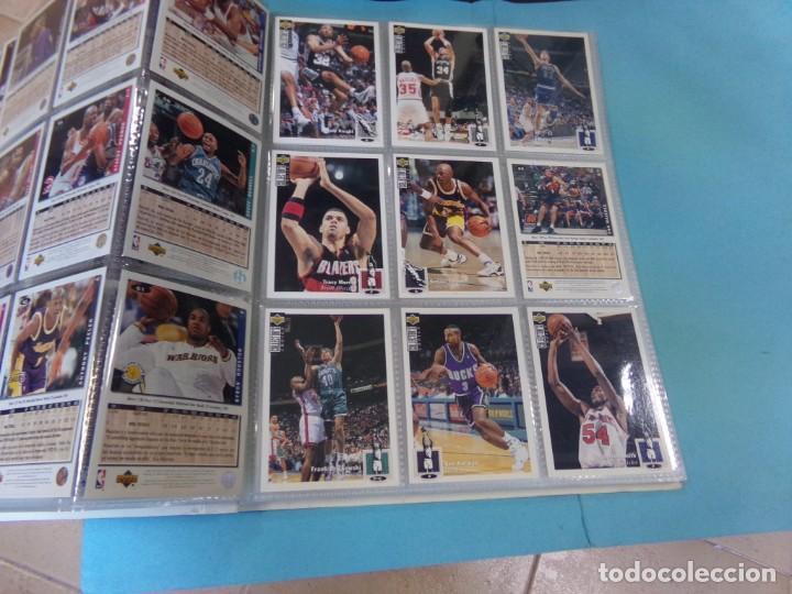 Coleccionismo deportivo: ALBUM UPPER D.E.C.K. NBA BASKETBALL, 94-95. COMPLETO 219 CROMOS MAS LOS 6 FIRMADOS TOTAL 225 CROMOS - Foto 9 - 189997572