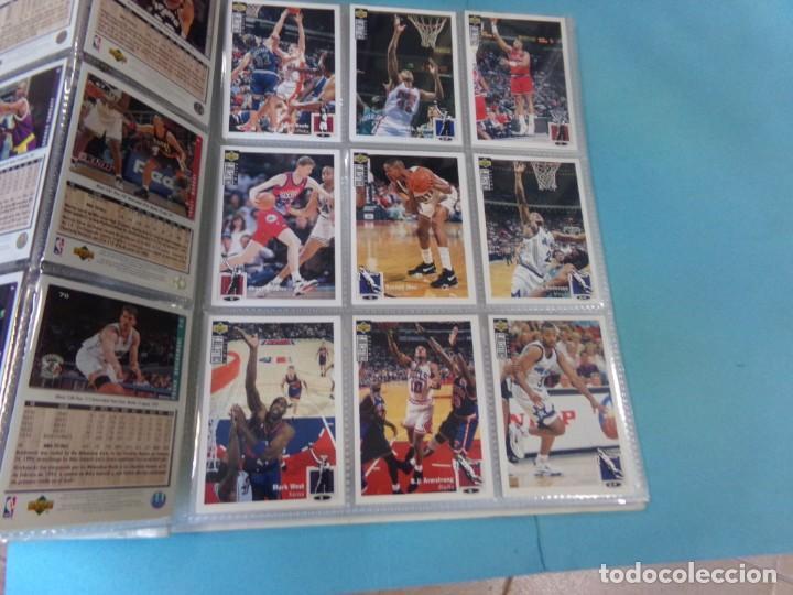 Coleccionismo deportivo: ALBUM UPPER D.E.C.K. NBA BASKETBALL, 94-95. COMPLETO 219 CROMOS MAS LOS 6 FIRMADOS TOTAL 225 CROMOS - Foto 10 - 189997572
