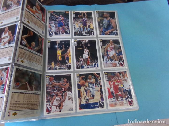 Coleccionismo deportivo: ALBUM UPPER D.E.C.K. NBA BASKETBALL, 94-95. COMPLETO 219 CROMOS MAS LOS 6 FIRMADOS TOTAL 225 CROMOS - Foto 11 - 189997572