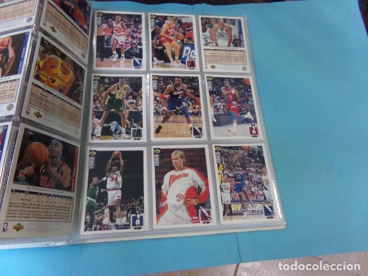 Coleccionismo deportivo: ALBUM UPPER D.E.C.K. NBA BASKETBALL, 94-95. COMPLETO 219 CROMOS MAS LOS 6 FIRMADOS TOTAL 225 CROMOS - Foto 12 - 189997572
