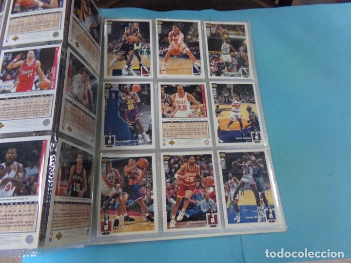Coleccionismo deportivo: ALBUM UPPER D.E.C.K. NBA BASKETBALL, 94-95. COMPLETO 219 CROMOS MAS LOS 6 FIRMADOS TOTAL 225 CROMOS - Foto 15 - 189997572