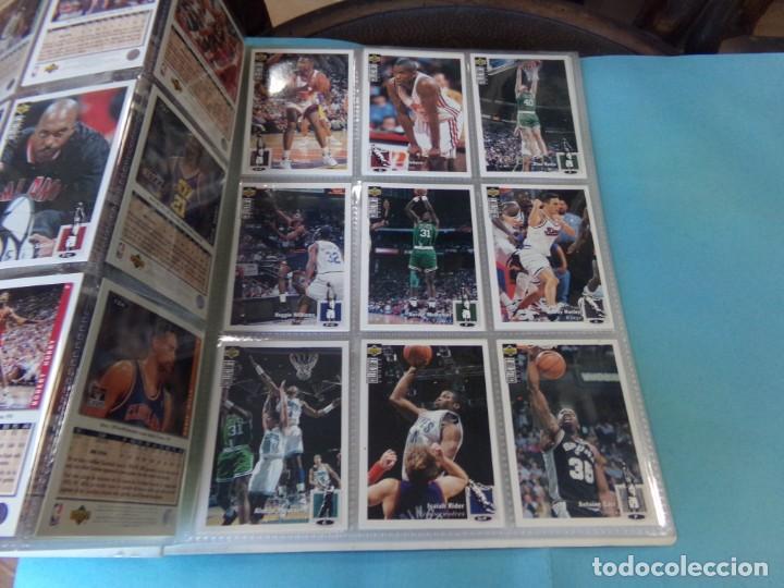 Coleccionismo deportivo: ALBUM UPPER D.E.C.K. NBA BASKETBALL, 94-95. COMPLETO 219 CROMOS MAS LOS 6 FIRMADOS TOTAL 225 CROMOS - Foto 16 - 189997572