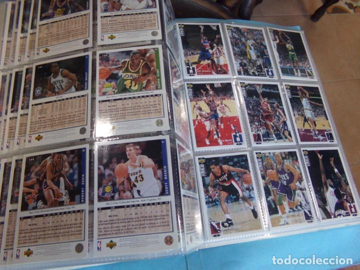 Coleccionismo deportivo: ALBUM UPPER D.E.C.K. NBA BASKETBALL, 94-95. COMPLETO 219 CROMOS MAS LOS 6 FIRMADOS TOTAL 225 CROMOS - Foto 18 - 189997572