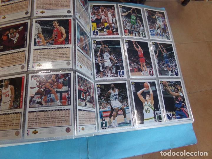 Coleccionismo deportivo: ALBUM UPPER D.E.C.K. NBA BASKETBALL, 94-95. COMPLETO 219 CROMOS MAS LOS 6 FIRMADOS TOTAL 225 CROMOS - Foto 19 - 189997572