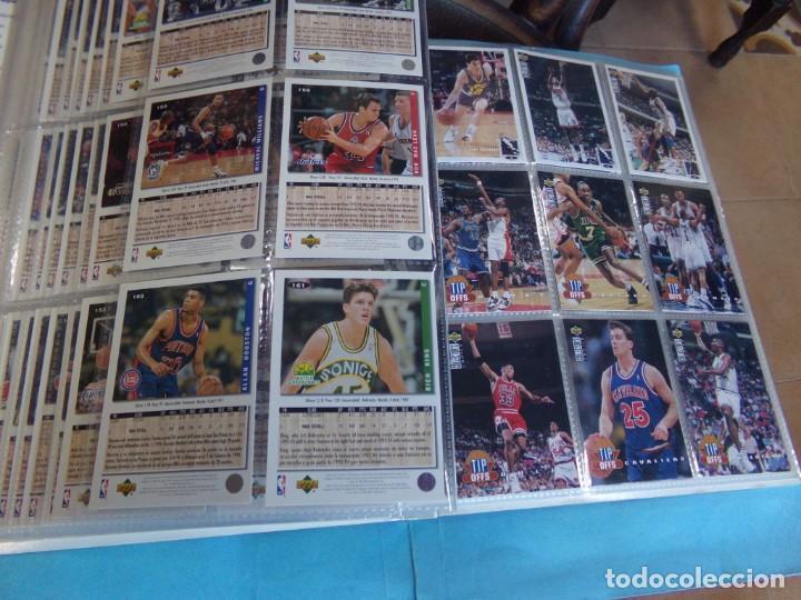 Coleccionismo deportivo: ALBUM UPPER D.E.C.K. NBA BASKETBALL, 94-95. COMPLETO 219 CROMOS MAS LOS 6 FIRMADOS TOTAL 225 CROMOS - Foto 20 - 189997572