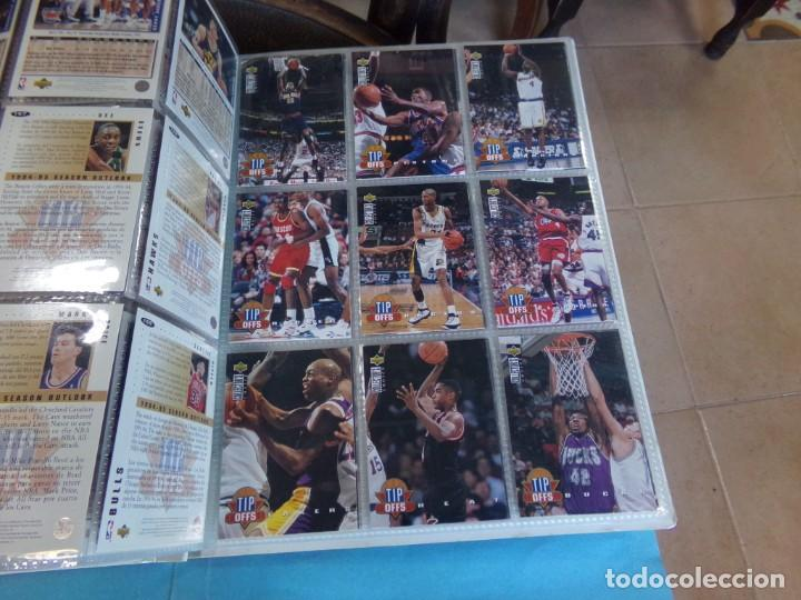 Coleccionismo deportivo: ALBUM UPPER D.E.C.K. NBA BASKETBALL, 94-95. COMPLETO 219 CROMOS MAS LOS 6 FIRMADOS TOTAL 225 CROMOS - Foto 21 - 189997572