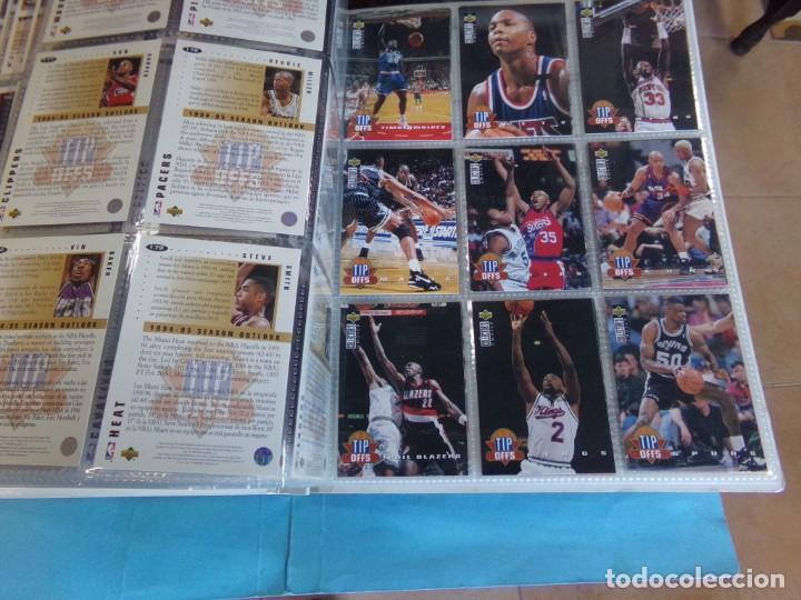 Coleccionismo deportivo: ALBUM UPPER D.E.C.K. NBA BASKETBALL, 94-95. COMPLETO 219 CROMOS MAS LOS 6 FIRMADOS TOTAL 225 CROMOS - Foto 22 - 189997572