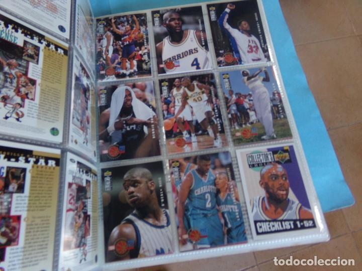 Coleccionismo deportivo: ALBUM UPPER D.E.C.K. NBA BASKETBALL, 94-95. COMPLETO 219 CROMOS MAS LOS 6 FIRMADOS TOTAL 225 CROMOS - Foto 23 - 189997572