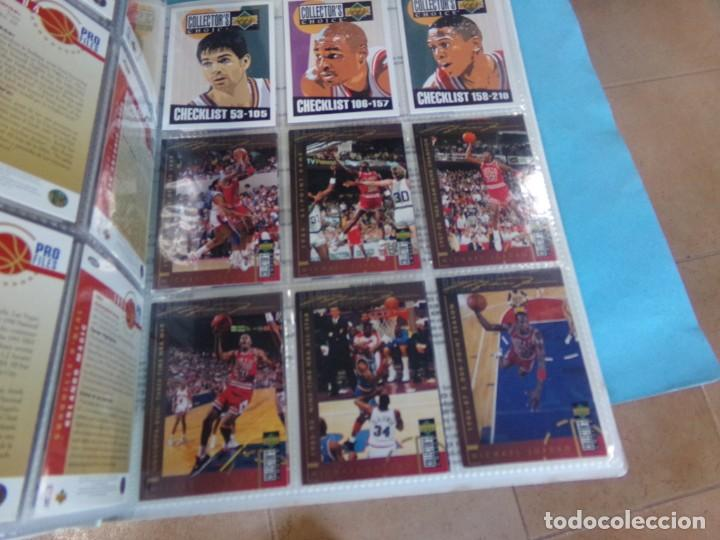 Coleccionismo deportivo: ALBUM UPPER D.E.C.K. NBA BASKETBALL, 94-95. COMPLETO 219 CROMOS MAS LOS 6 FIRMADOS TOTAL 225 CROMOS - Foto 24 - 189997572