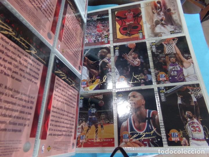 Coleccionismo deportivo: ALBUM UPPER D.E.C.K. NBA BASKETBALL, 94-95. COMPLETO 219 CROMOS MAS LOS 6 FIRMADOS TOTAL 225 CROMOS - Foto 25 - 189997572