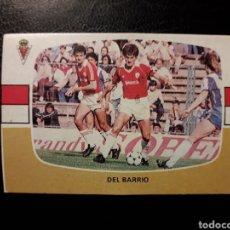 Coleccionismo deportivo: DEL BARRIO MURCIA. CROMOS CANO. SIN PEGAR 1984-1985 84-85. VER FOTOS DE FRONTAL Y TRASERA. Lote 190048453