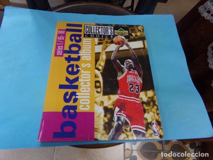 ALBUM UPPER D.E.C.K SERIE 1/ 95-96,BASKETBALL. COMPLETO CON TODOS LOS ESPECIALES 288 CROMOS (Coleccionismo Deportivo - Álbumes otros Deportes)