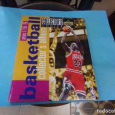 Coleccionismo deportivo: ALBUM UPPER D.E.C.K SERIE 1/ 95-96,BASKETBALL. COMPLETO CON TODOS LOS ESPECIALES 288 CROMOS. Lote 190112815