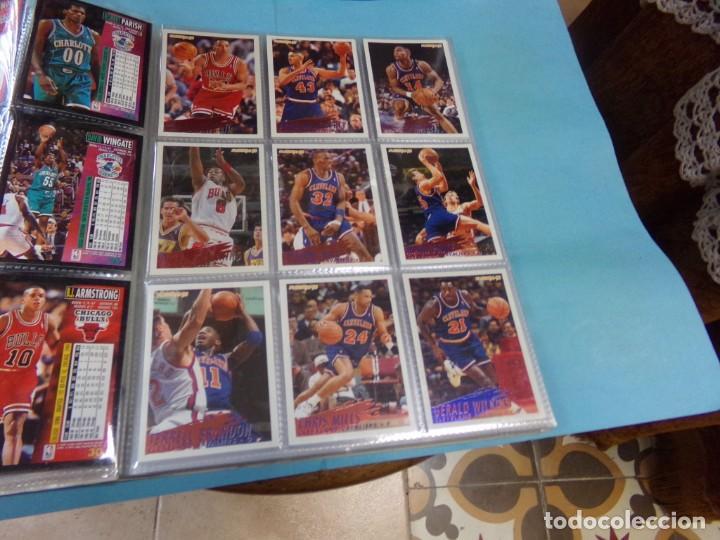 Coleccionismo deportivo: ALBUM UPPER D.E.C.K SERIE 1/ 95-96,BASKETBALL. COMPLETO CON TODOS LOS ESPECIALES 288 CROMOS - Foto 6 - 190112815