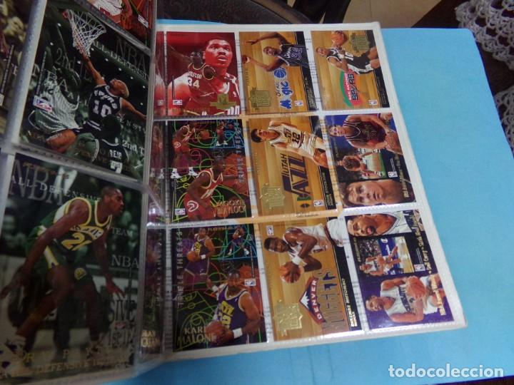 Coleccionismo deportivo: ALBUM UPPER D.E.C.K SERIE 1/ 95-96,BASKETBALL. COMPLETO CON TODOS LOS ESPECIALES 288 CROMOS - Foto 34 - 190112815