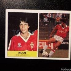 Coleccionismo deportivo: MEJÍAS MURCIA. SIN PEGAR ED. FESTIVAL. 1987-1988 87 88. VER FOTOS DE FRONTAL Y TRASERA. Lote 190648710