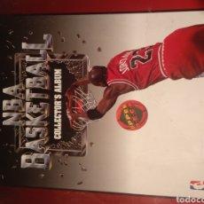 Coleccionismo deportivo: NBA BASKETBALL ALBUM COMPLETO. Lote 191541566
