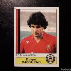 Collectionnisme sportif: MAGDALENO MALLORCA N° 149 PANINI 87 88 1987 1988. SIN PEGAR. CORTE SUPERIOR. FOTOS FRONTAL Y TRASERA. Lote 192108078