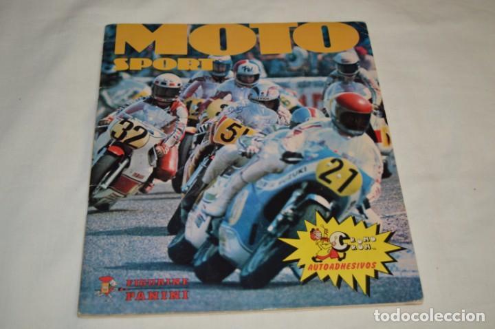 MOTO SPORT - ÁLBUM PANINI, COMPLETO - BUEN ESTADO GENERAL - AÑOS 80 - ¡MIRA! (Coleccionismo Deportivo - Álbumes otros Deportes)