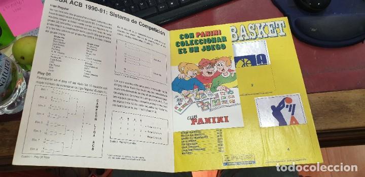 Coleccionismo deportivo: Album panini basket 91 incompleto en muy buen estado - Foto 11 - 205683635