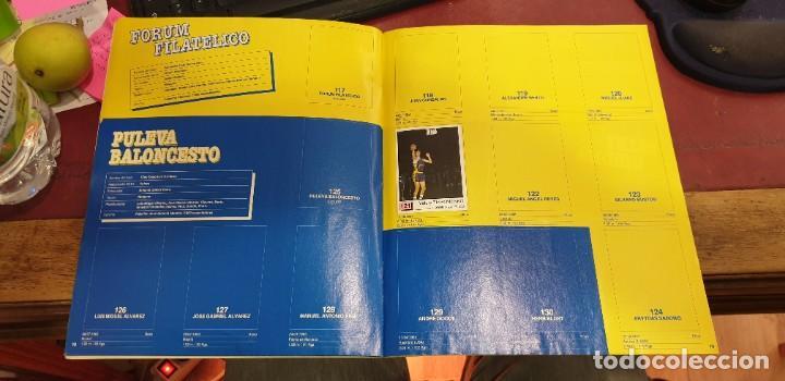 Coleccionismo deportivo: Album panini basket 91 incompleto en muy buen estado - Foto 2 - 205683635