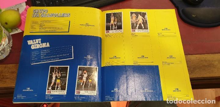 Coleccionismo deportivo: Album panini basket 91 incompleto en muy buen estado - Foto 3 - 205683635