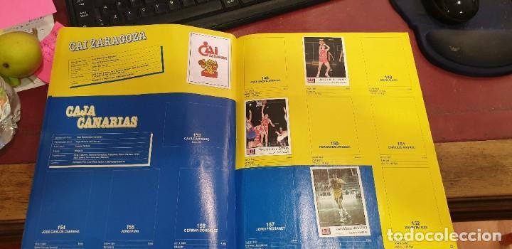 Coleccionismo deportivo: Album panini basket 91 incompleto en muy buen estado - Foto 4 - 205683635
