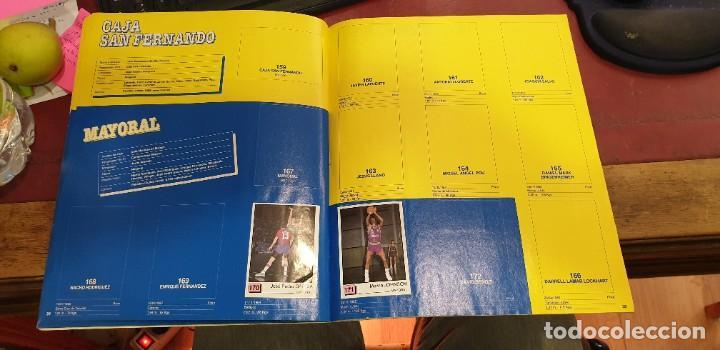 Coleccionismo deportivo: Album panini basket 91 incompleto en muy buen estado - Foto 5 - 205683635