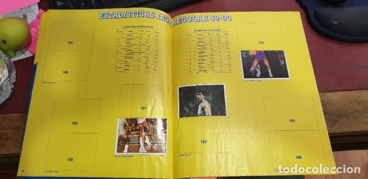 Coleccionismo deportivo: Album panini basket 91 incompleto en muy buen estado - Foto 7 - 205683635