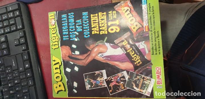 Coleccionismo deportivo: Album panini basket 91 incompleto en muy buen estado - Foto 10 - 205683635