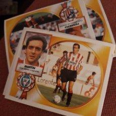 Coleccionismo deportivo: 95 1994 1995 SIN PEGAR LOGROÑÉS MARTÍN. Lote 195518877