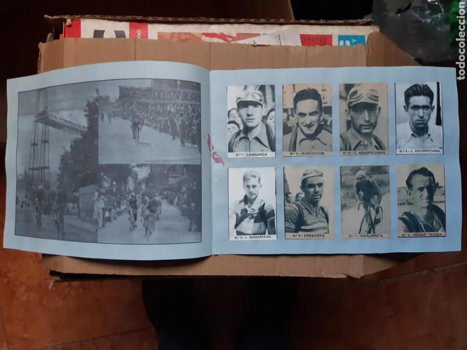 Coleccionismo deportivo: Album cromos ases del pedal años 40 ciclismo - Foto 2 - 254914780