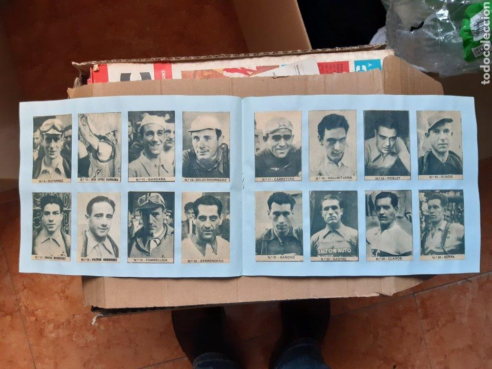 Coleccionismo deportivo: Album cromos ases del pedal años 40 ciclismo - Foto 3 - 254914780