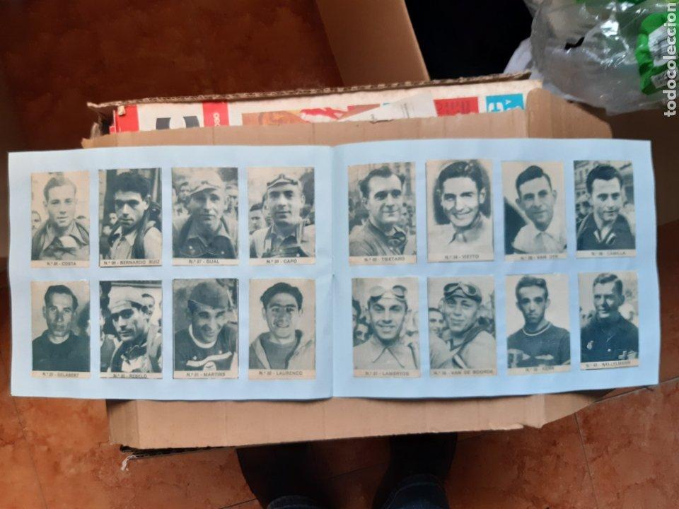 Coleccionismo deportivo: Album cromos ases del pedal años 40 ciclismo - Foto 4 - 254914780