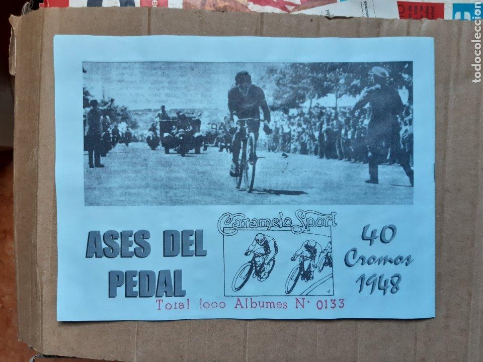 Coleccionismo deportivo: Album cromos ases del pedal años 40 ciclismo - Foto 5 - 254914780