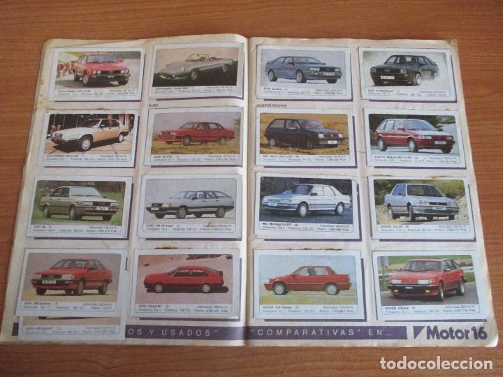 Coleccionismo deportivo: EDICIONES UNIDAS : ALBUM DE CROMOS DE COCHES , MOTOR 16 ( COMPLETO CON SUS 162 CROMOS ) - Foto 3 - 195652677