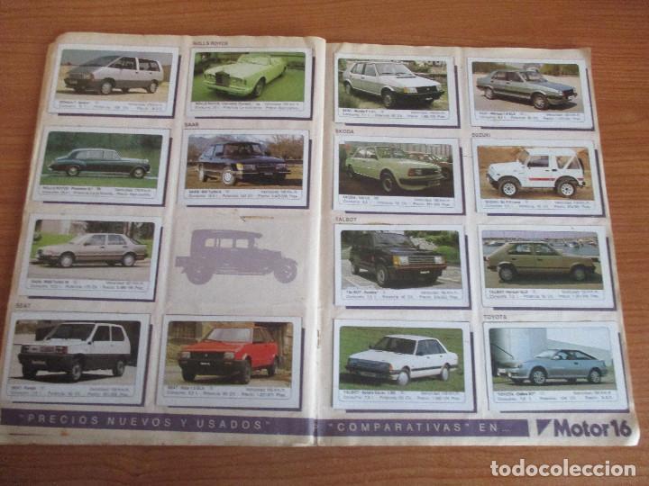 Coleccionismo deportivo: EDICIONES UNIDAS : ALBUM DE CROMOS DE COCHES , MOTOR 16 ( COMPLETO CON SUS 162 CROMOS ) - Foto 11 - 195652677