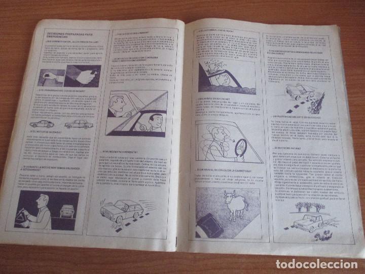 Coleccionismo deportivo: EDICIONES UNIDAS : ALBUM DE CROMOS DE COCHES , MOTOR 16 ( COMPLETO CON SUS 162 CROMOS ) - Foto 15 - 195652677