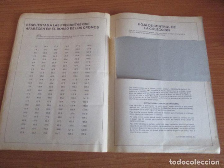Coleccionismo deportivo: EDICIONES UNIDAS : ALBUM DE CROMOS DE COCHES , MOTOR 16 ( COMPLETO CON SUS 162 CROMOS ) - Foto 16 - 195652677