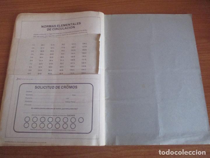 Coleccionismo deportivo: EDICIONES UNIDAS : ALBUM DE CROMOS DE COCHES , MOTOR 16 ( COMPLETO CON SUS 162 CROMOS ) - Foto 17 - 195652677