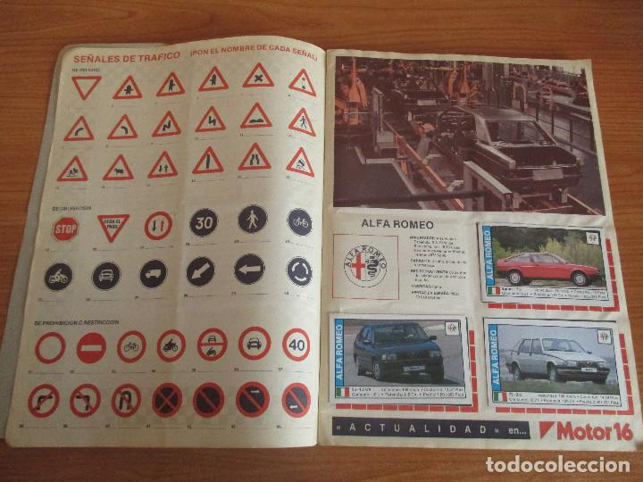 Coleccionismo deportivo: CUSCO ARTS GRAFIQUES: ALBUM DE CROMOS DE COCHES: COCHES COLECCION DE CROMOS ( COMPLETO) MOTOR 16 - Foto 3 - 195653476