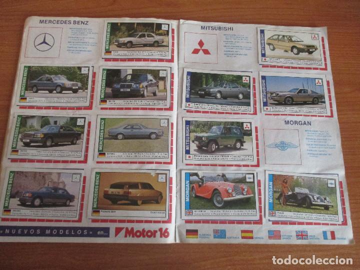 Coleccionismo deportivo: CUSCO ARTS GRAFIQUES: ALBUM DE CROMOS DE COCHES: COCHES COLECCION DE CROMOS ( COMPLETO) MOTOR 16 - Foto 11 - 195653476